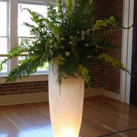 Lighted Flower Vase
